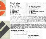 Pixies at the BBC (US Promo, back cover)