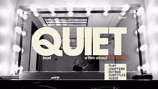 loudQUIETloud - a film about the Pixies: DVD menu