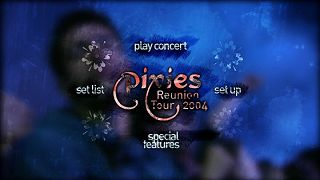 Pixies Sell Out: DVD menu